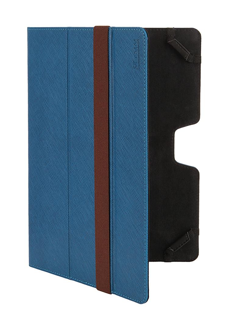 Аксессуар Чехол 10.1 ST Case иск. кожа Blue ST-c-FCU10-BLU-LTH