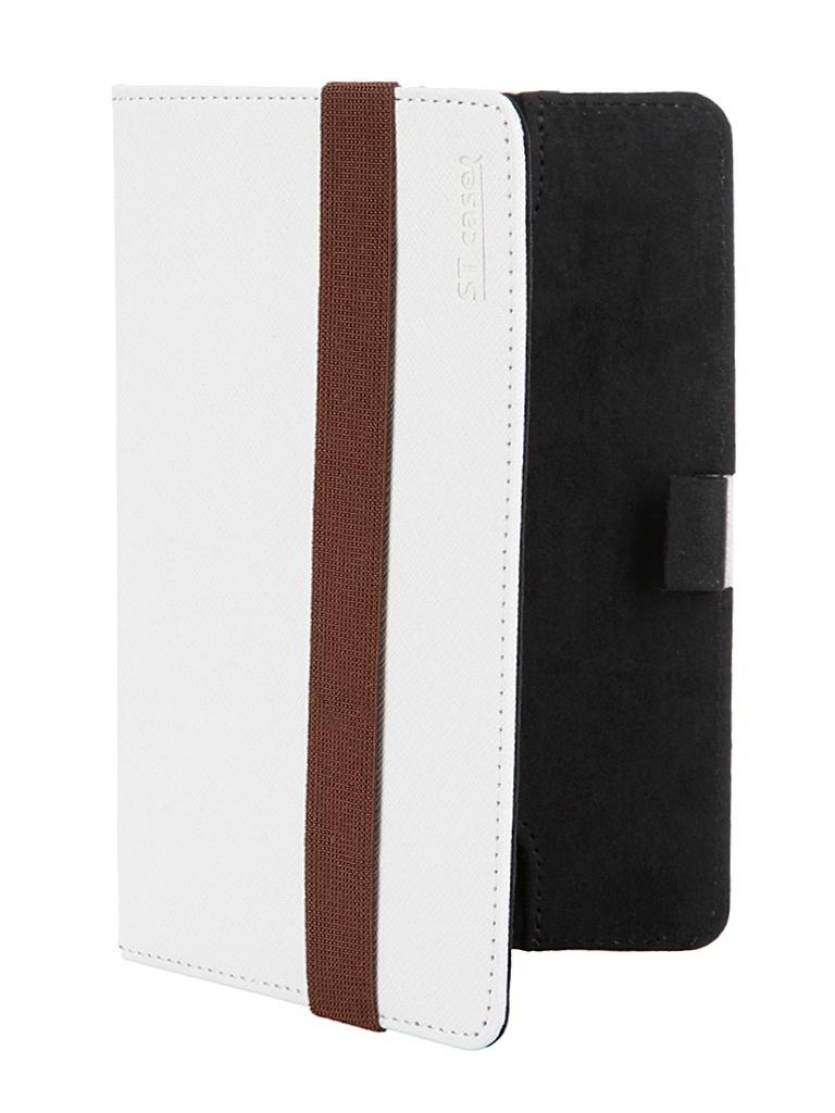 Аксессуар Чехол ST Case for Pocketbook 624 иск.кожа White ST-c-PB624-WHT-LTH