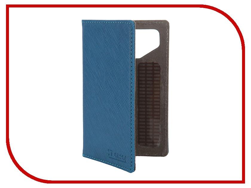 Аксессуар Чехол-книжка 3.5-3.9 ST Case иск. кожа Blue ST-c-SM3.5-3.9-BLU-LTH<br>
