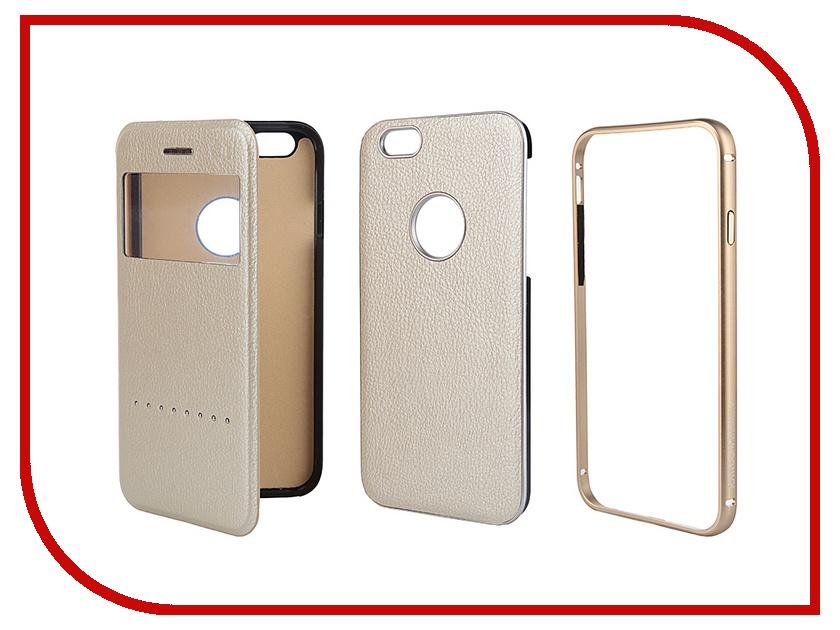 Аксессуар Чехол Liberty Project Joyroom Design for iPhone 6 4.7-inch 0L-00000777 Gold<br>