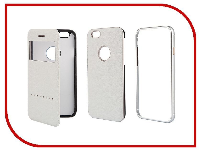 Аксессуар Чехол Liberty Project Joyroom Design for iPhone 6 4.7-inch 0L-00000776 White<br>