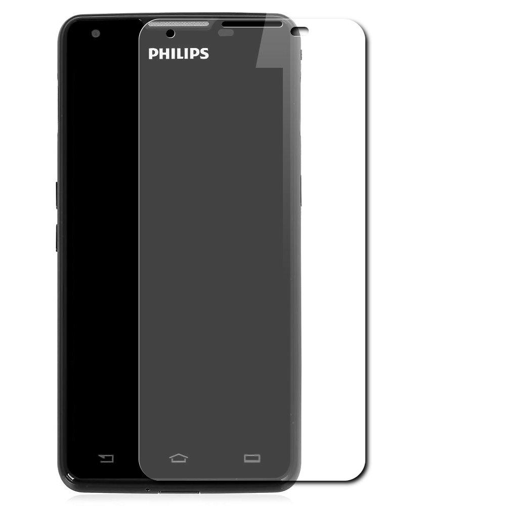 Аксессуар Защитное стекло Philips W6610 Skinbox 0.3mm 2.5D глянцевое SP-099