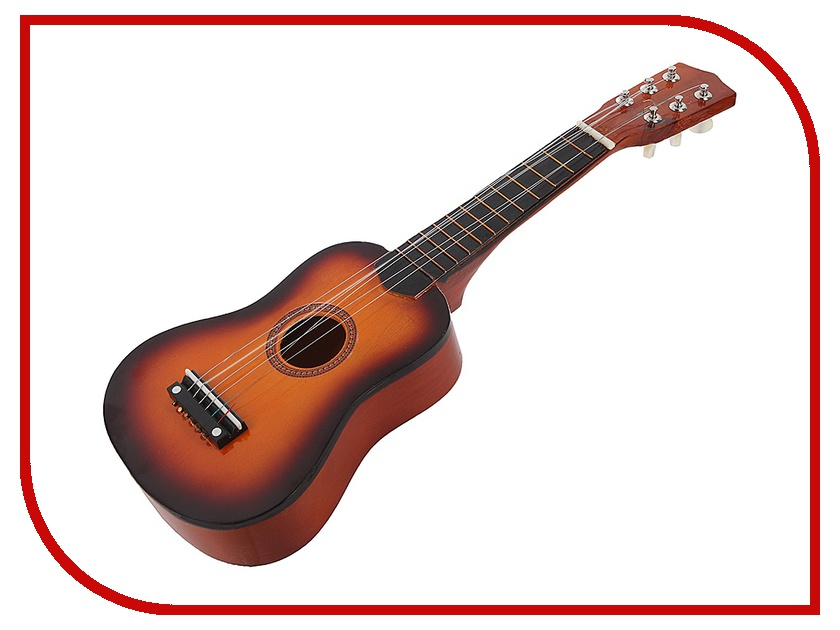 Детский музыкальный инструмент Shantou Gepai Гитара настоящая 46141