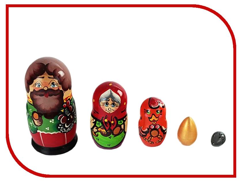 Матрешка Бэмби Курочка Ряба Р-45/743 деревянные игрушки бэмби матрешка красная шапочка 7705