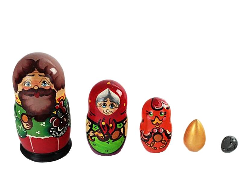 Матрешка Бэмби Курочка Ряба Р-45/743 printio бэмби