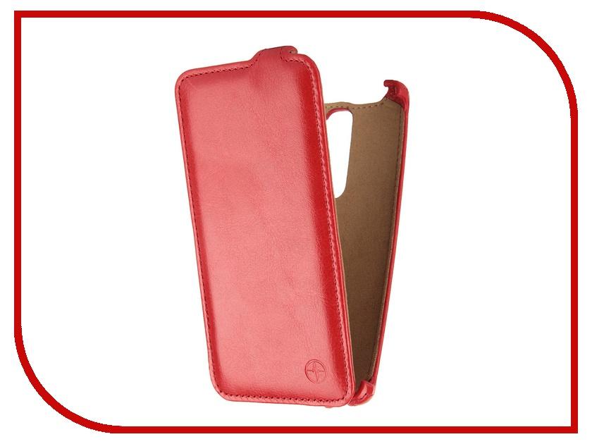 Аксессуар Чехол LG H502 Magna Pulsar Shellcase Red PSC0464