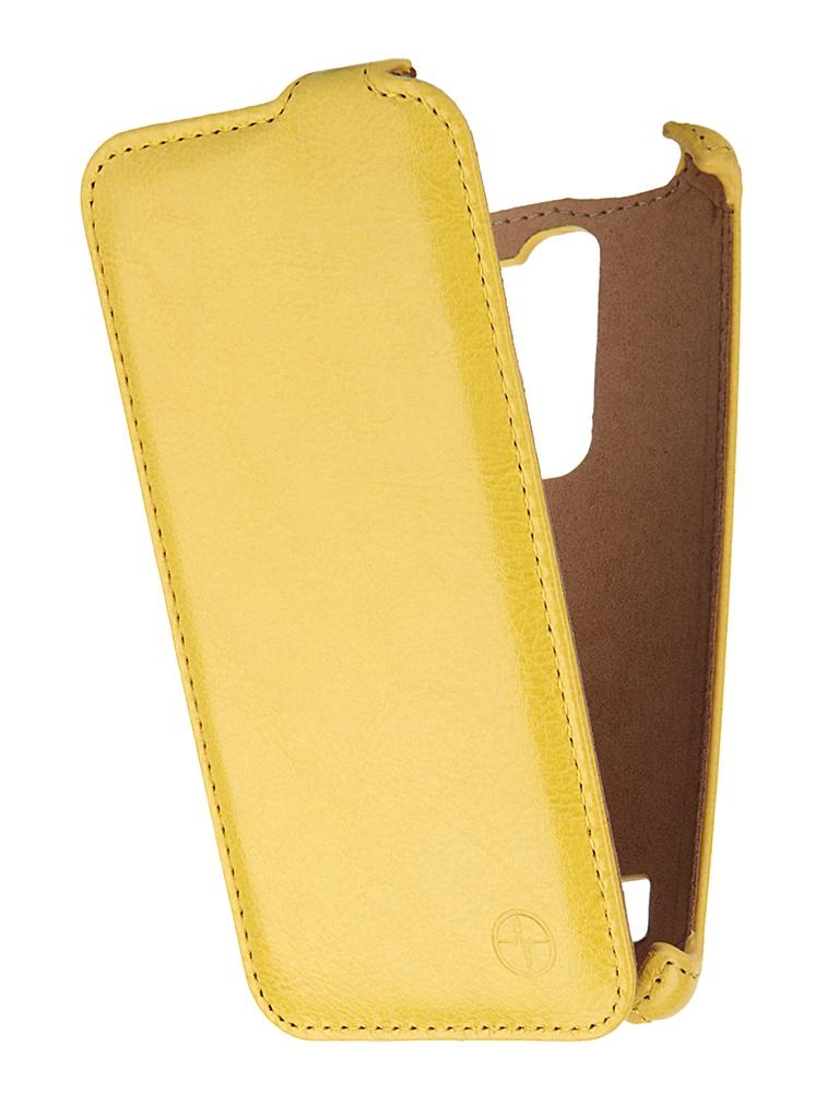 Аксессуар Чехол LG H422 Spirit Pulsar Shellcase Yellow PSC0449<br>