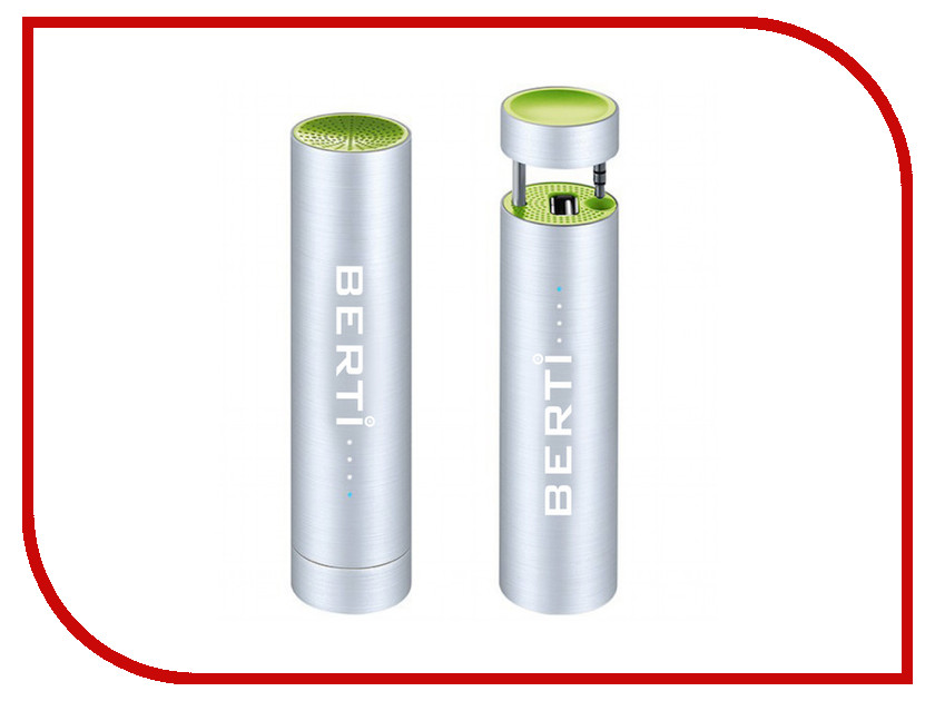Аккумулятор Berti X-Power Plus 3000mAh Green аккумулятор yoobao yb 6014 10400mah green