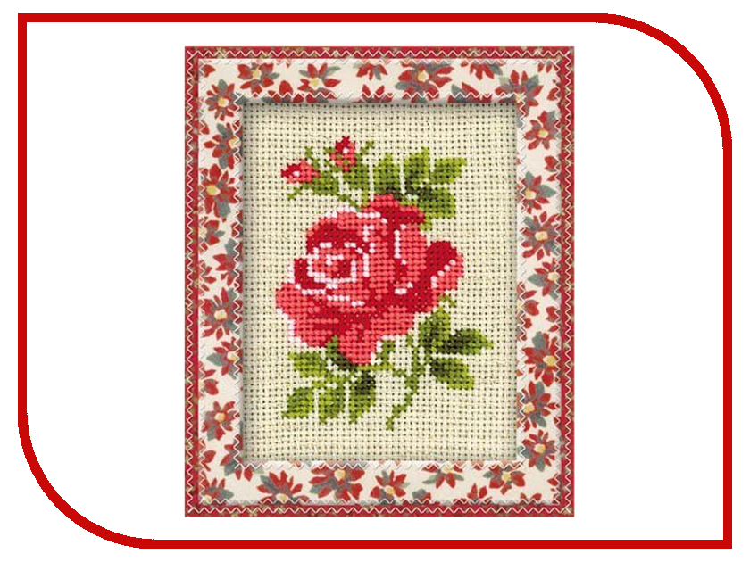 Набор для творчества Сотвори Сама Набор для вышивания Розочка 983<br>