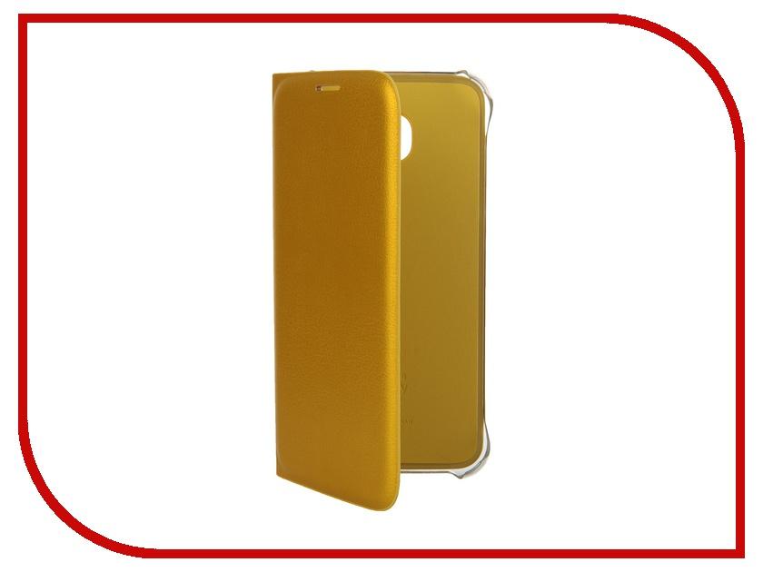 Аксессуар Чехол Samsung SM-G920 Galaxy S6 Flip Wallet Yellow EF-WG920PYEGRU<br>