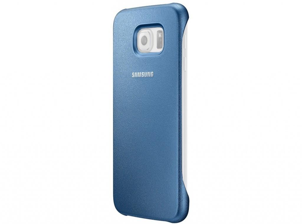 Аксессуар Чехол Samsung SM-G920 Galaxy S6 Protective Cover Blue EF-YG920BLEGRU<br>