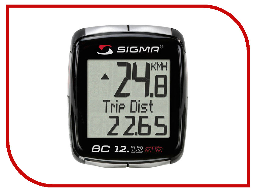 Велокомпьютер Sigma BC 12.12 STS NSI02130
