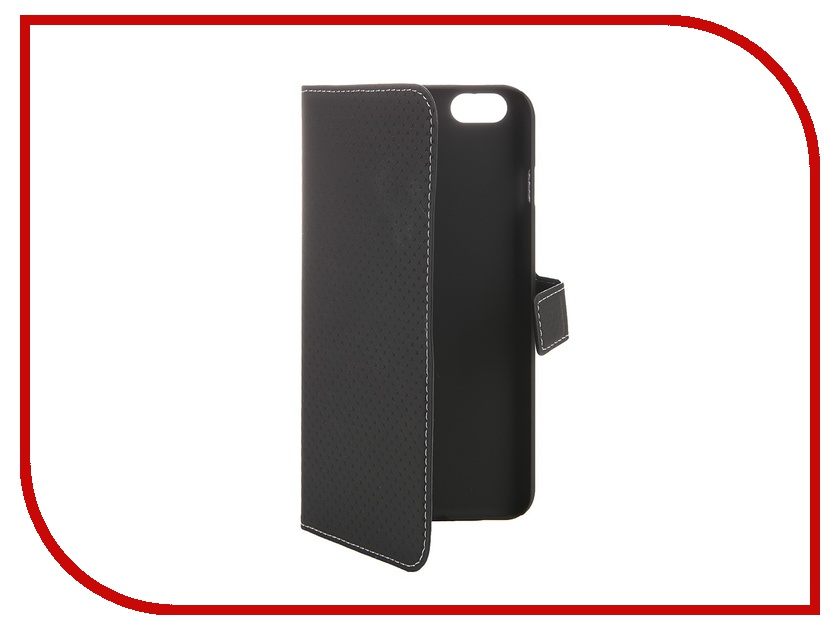 Аксессуар Чехол-книжка iPhone 6 Plus Muvit Wallet Folio Stand Case Black MUSNS0073 muvit muvit smooth slim folio для iphone 6 plus 6s plus