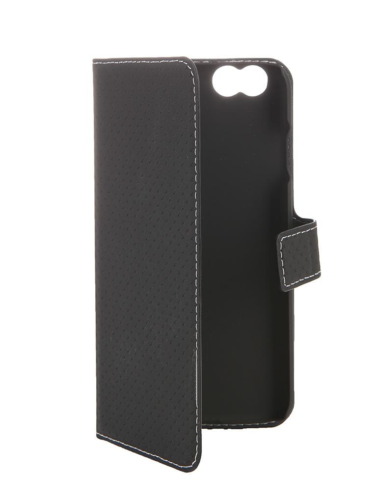 Аксессуар Чехол-книжка iPhone 6 Muvit Wallet Folio Stand Case Black MUSNS0048