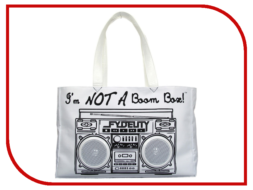 Сумка Fydelity Le Boom Box White - Пляжная сумка от Pleer