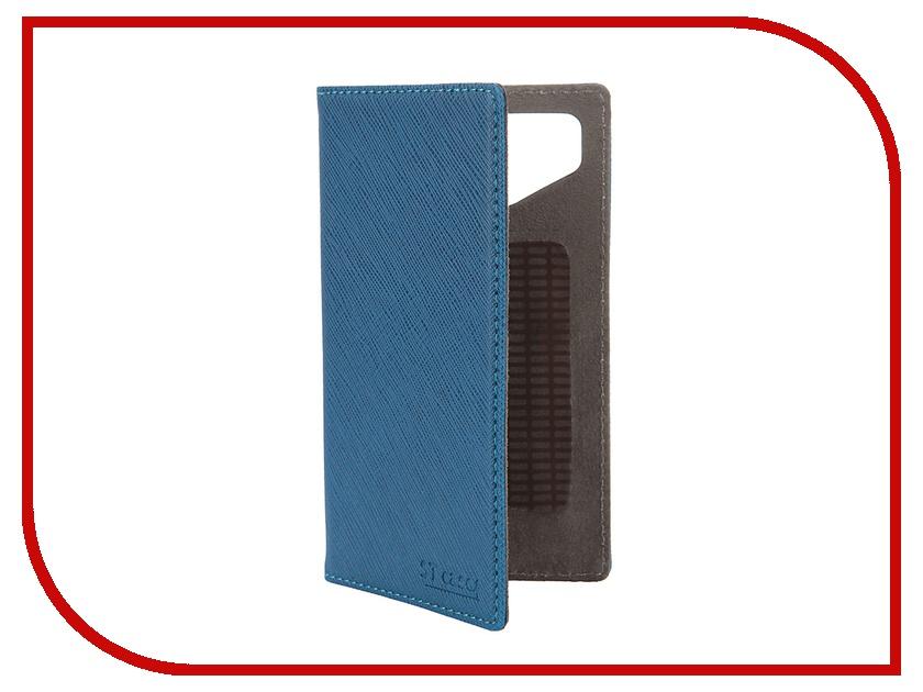 Аксессуар Чехол-книжка ST Case 4.3-4.5-inch иск. кожа Blue ST-c-SM4.3-4.5-BLU-LTH<br>