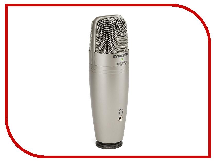 Микрофон Samson C01U Pro USB микрофон samson c01u pro usb