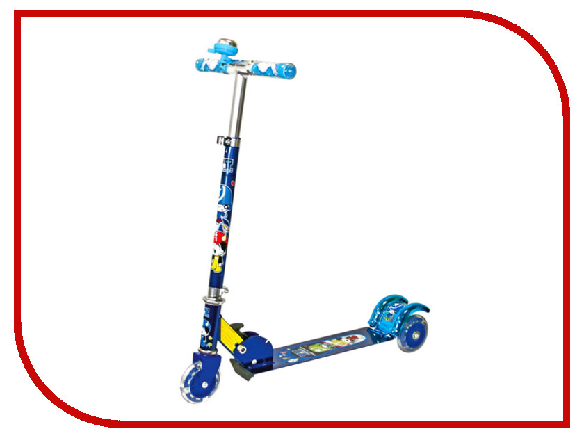 Самокат Tech Team Magic Scooter XL Blue самокат kettler kids scooter boy t07015 0000