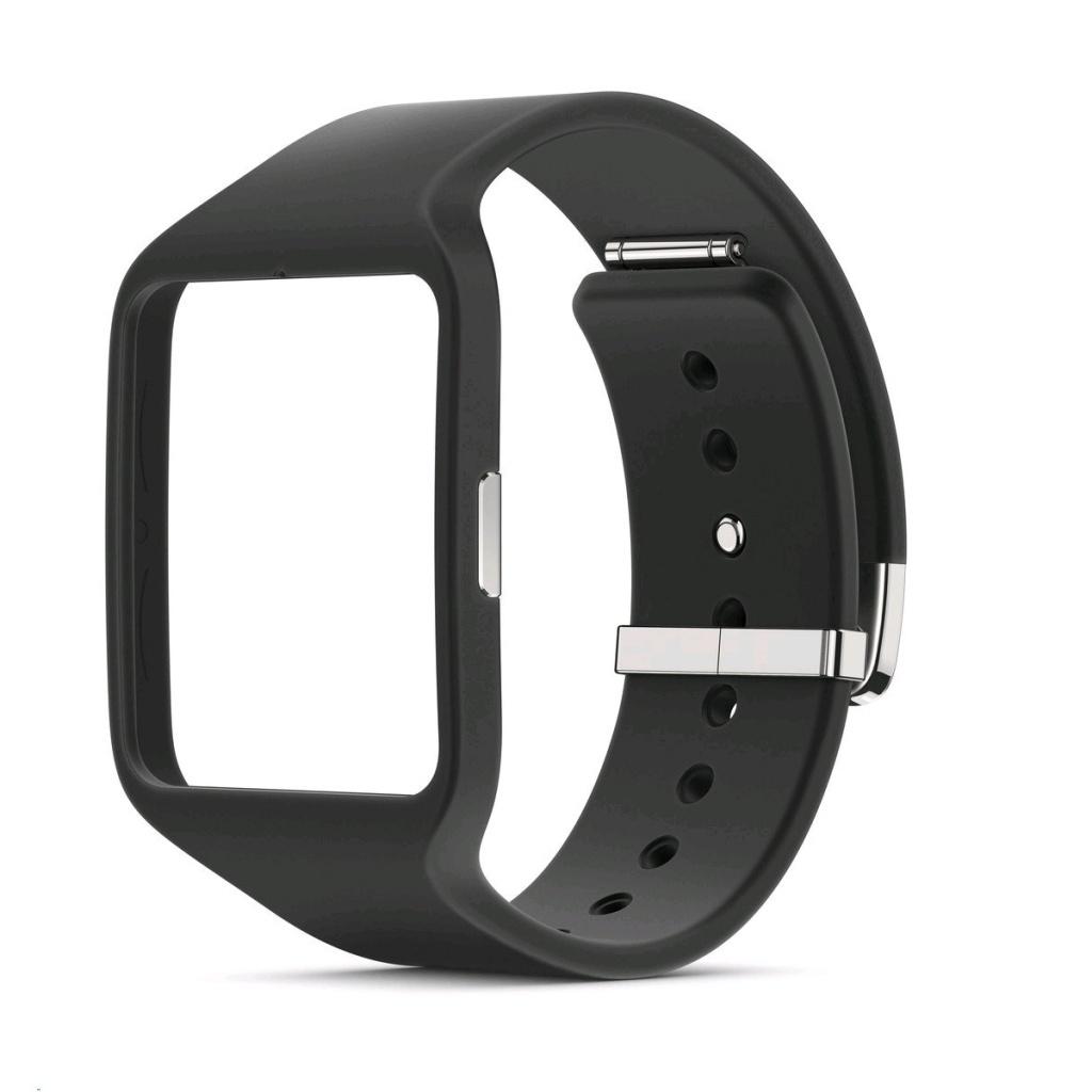 Аксессуар Ремешок Sony SWR510 для SmartWatch 3 Silicone Strap Black