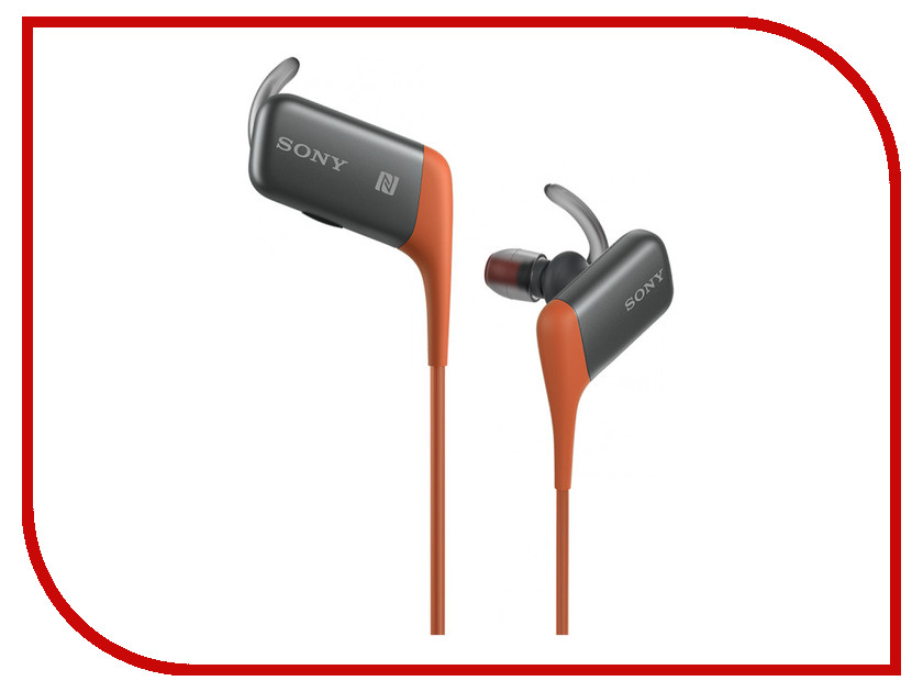Гарнитура Sony MDR-AS600BT Orange аксессуар sony mdr ex1l