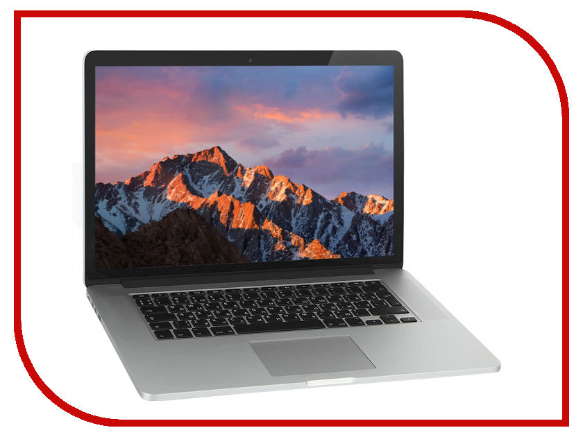 Ноутбук APPLE MacBook Pro 15 MJLQ2RU / A (Intel Core i7 2.2 GHz / 16384Mb / 256Gb / Intel Iris Pro / Wi-Fi / Bluetooth / Cam / 15.4 / 2880x1800 / Mac OS X)