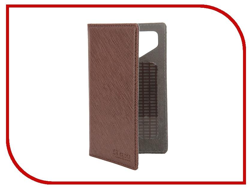Аксессуар Чехол-книжка ST Case 4-4.2-inch иск. кожа Brown ST-c-SM4-4.2-BRN-LTH