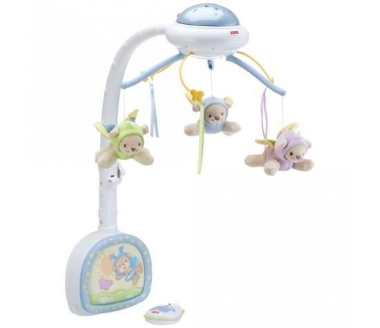 Музыкальный мобиль Mattel Fisher-Price Мечты о бабочках CDN41