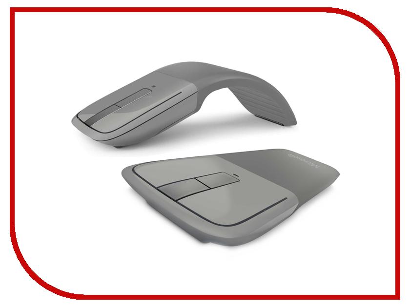 Мышь беспроводная Microsoft Wireless ARC Touch Mouse Silver New 7MP-00005 / 7MP-00015