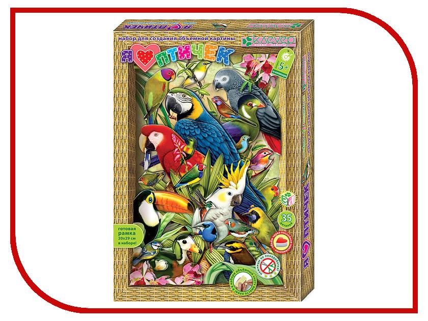 Набор Клевер Набор для картины Я люблю птичек АБ 21-114<br>
