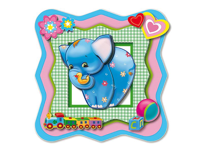 Набор Клевер Набор для картины Добрый слоник АБ 20-005<br>