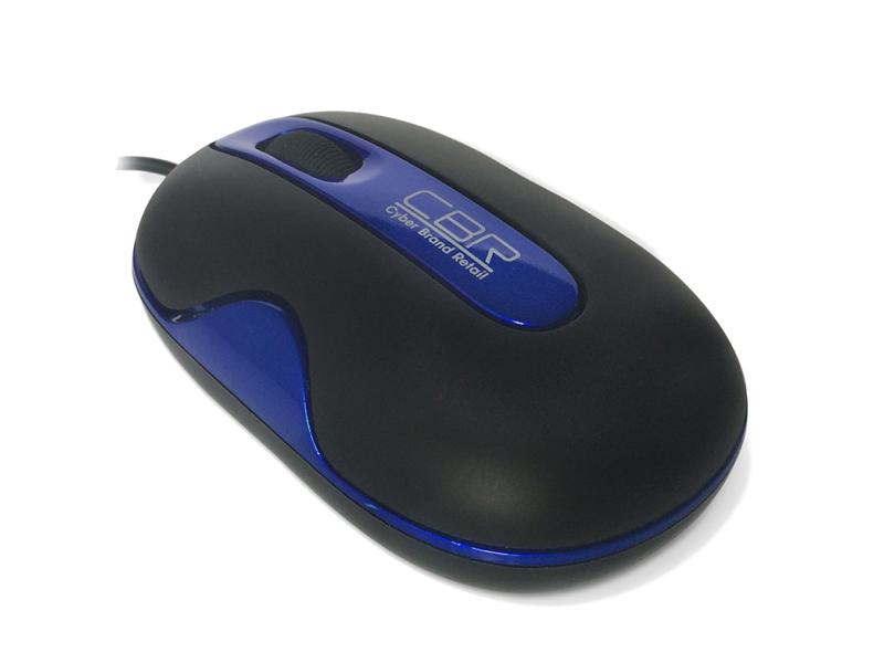Мышь проводная CBR CM 200 Blue