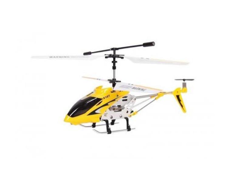 Вертолет Mioshi Tech iR-107 Yellow<br>