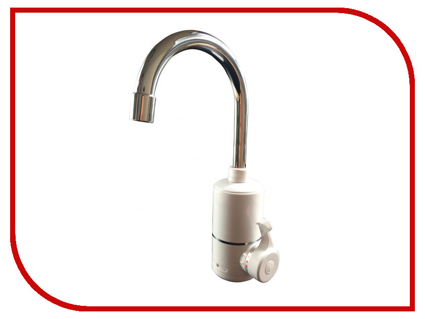Кран мгновенного нагрева воды Акватерм КА-008W 3000Вт White<br>