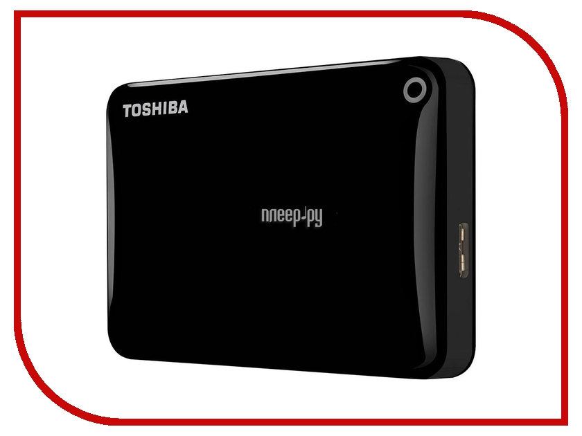 внешние HDD/SSD HDTC805EK3AA  Жесткий диск Toshiba Canvio Connect II 500Gb Black HDTC805EK3AA