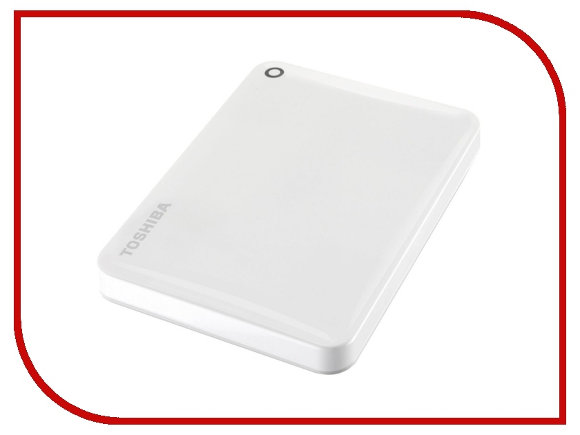 Жесткий диск Toshiba Canvio Connect II 1Tb White HDTC810EW3AA