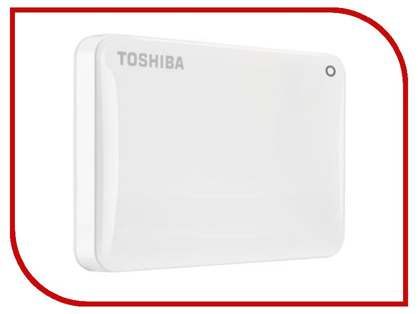 Жесткий диск Toshiba Canvio Connect II 2Tb White HDTC820EW3CA