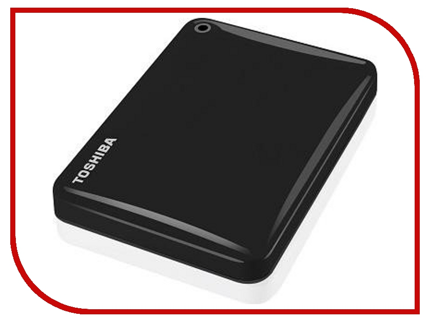 внешние HDD/SSD HDTC830EK3CA  Жесткий диск Toshiba Canvio Connect II 3Tb Black HDTC830EK3CA