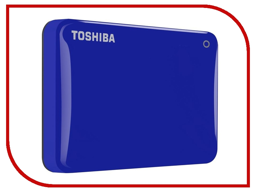 внешние HDD/SSD HDTC830EL3CA  Жесткий диск Toshiba Canvio Connect II 3Tb Blue HDTC830EL3CA
