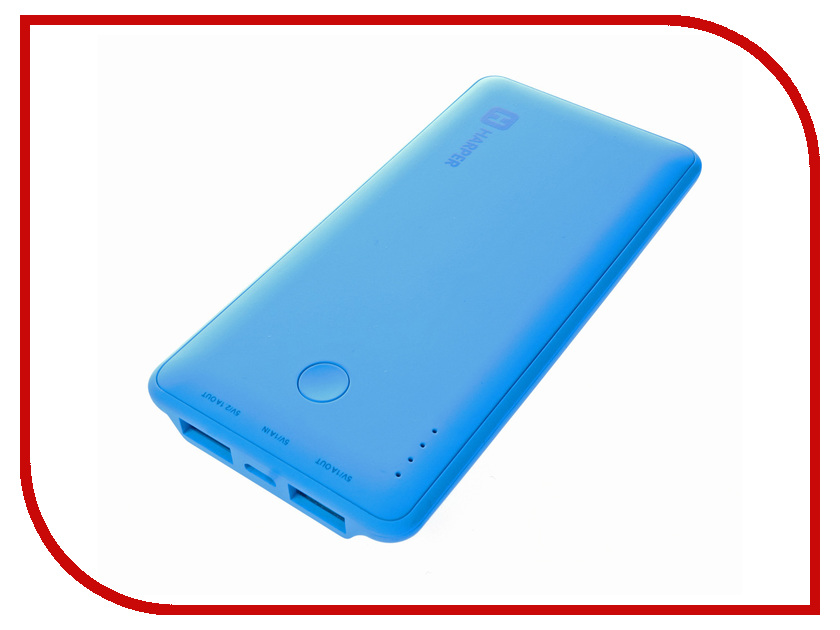 Аккумулятор HARPER PB-6001 6000 mAh Light Blue<br>