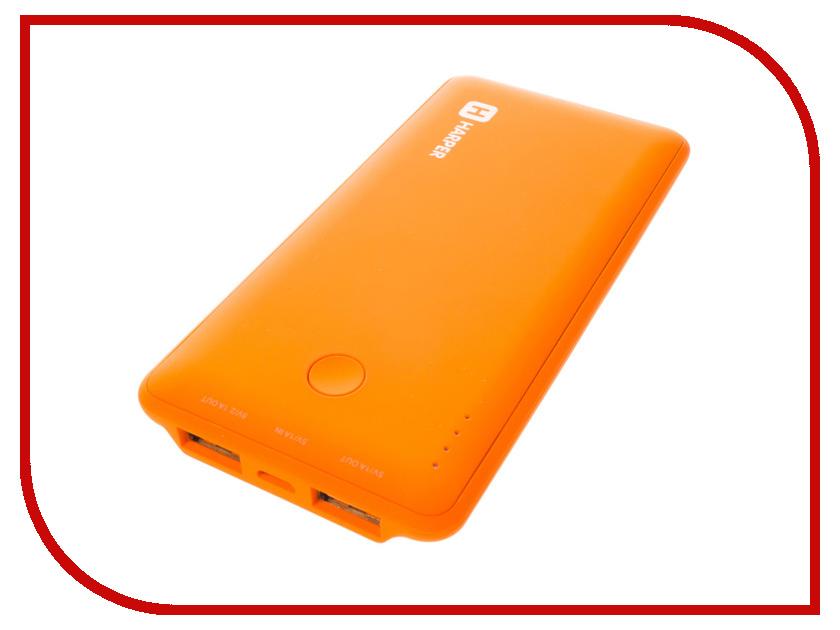 Аккумулятор HARPER PB-6001 6000 mAh Orange<br>