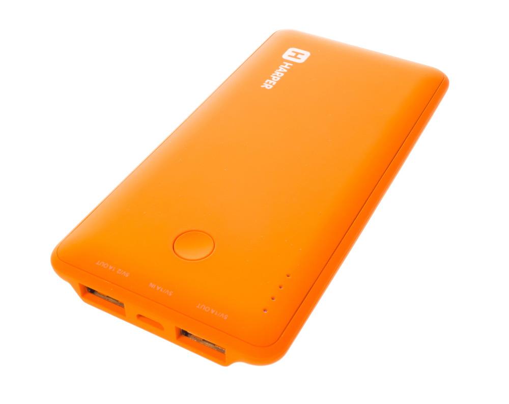 Аккумулятор HARPER PB-6001 6000 mAh Orange