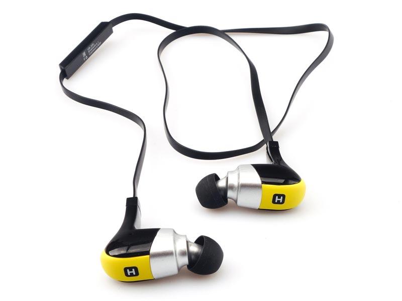 Наушники Harper HB-308 Yellow — HB-308
