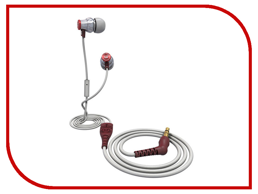 ��������� Brainwavz Delta With Mic iOS Silver