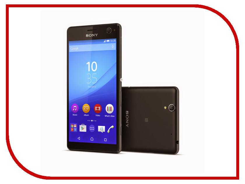 Сотовый телефон Sony E5303 Xperia C4 Black<br>