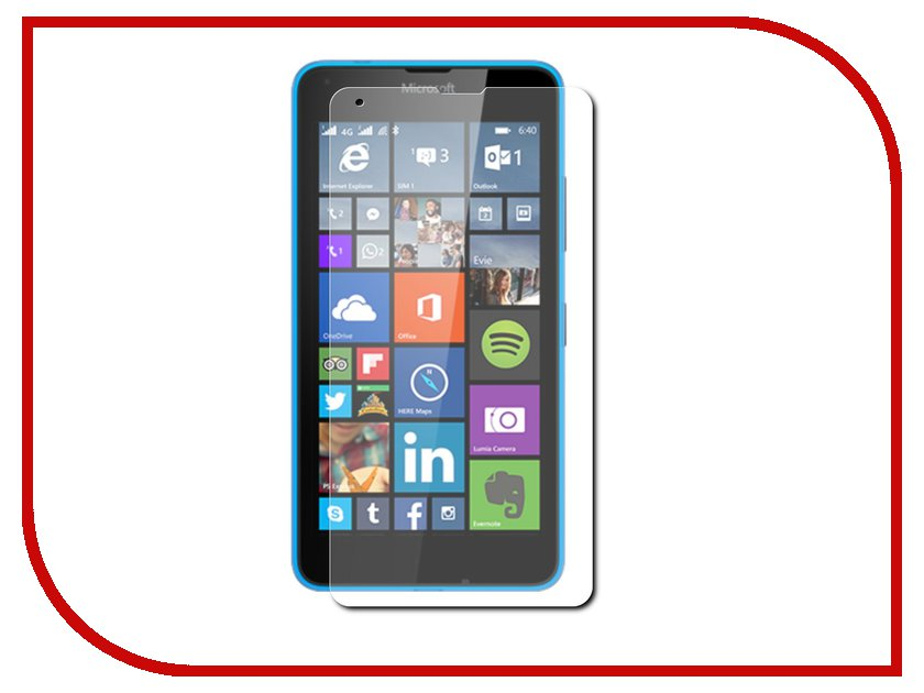Аксессуар Защитное стекло Microsoft Lumia 640 Onext 40942<br>
