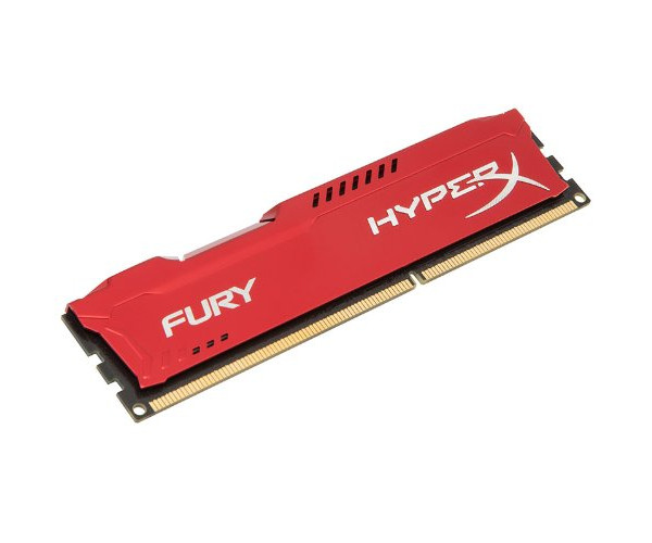Модуль памяти HyperX Fury Red Series PC3-15000 DIMM DDR3 1866MHz CL10 - 8Gb HX318C10FR/8