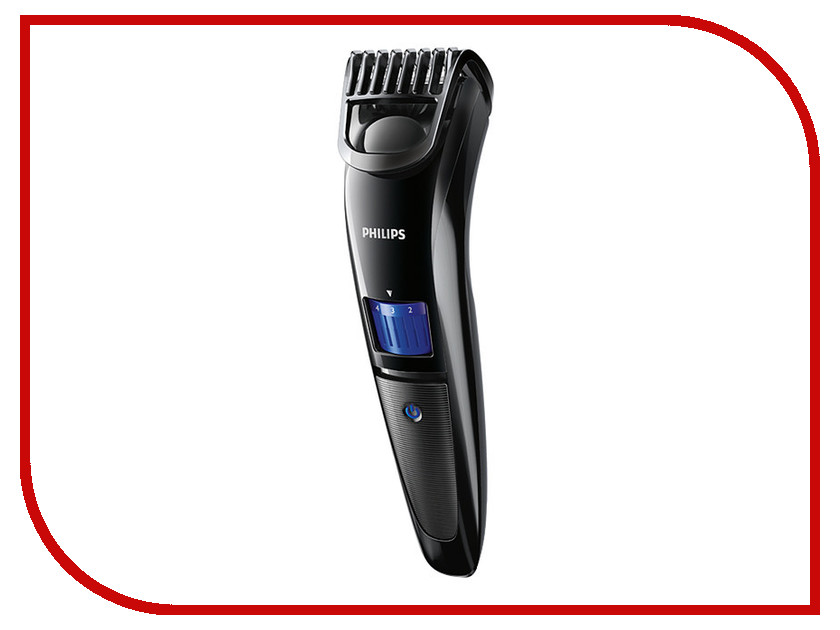 Триммер Philips Beardtrimmer Series 3000 QT4000/15 триммер для бороды philips qt 3900 15 beardtrimmer series 3000 черный