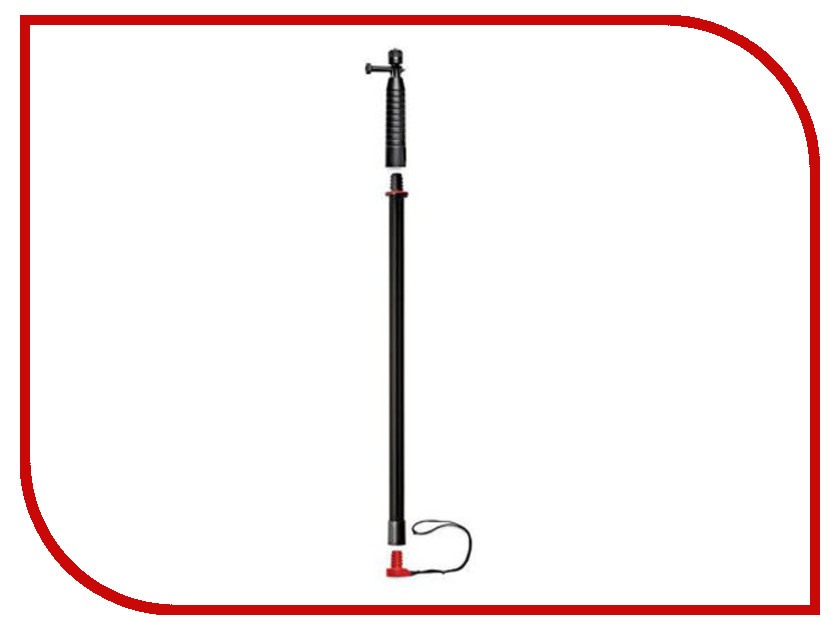 все цены на Аксессуар Монопод Joby Action Grip & Pole Black-Red онлайн