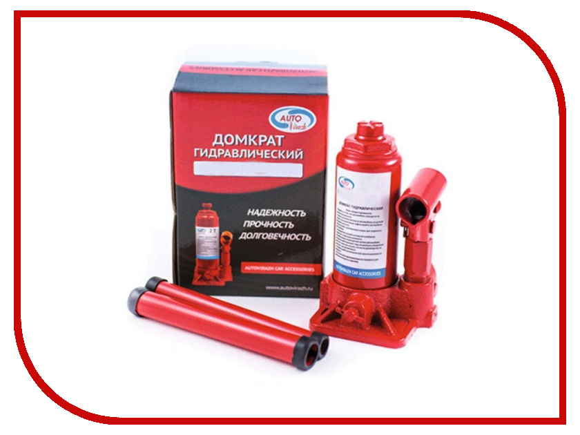 Домкрат Autovirazh AV-073406 6т Red