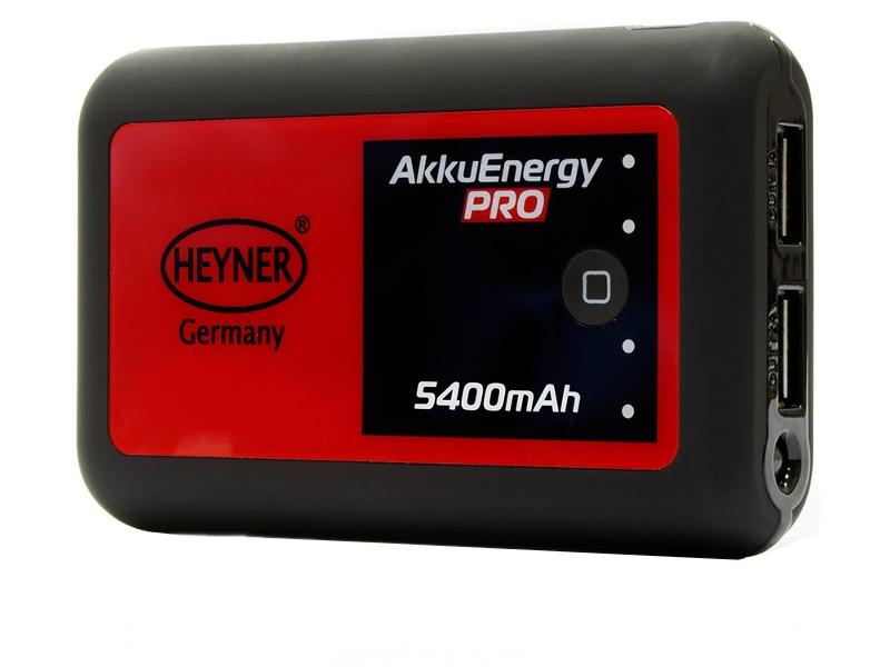 Аккумулятор HEYNER Power Bank 5400 mAh 511 650